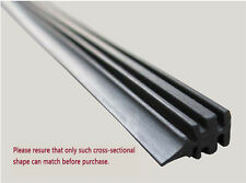 "2 X 26"" 6mm Universal Auto Car Windshield Frameless Rubber Wiper Blade Refill"