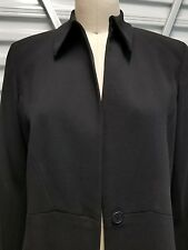 Women Career Jacket Garfield & Marks Black Size 8 New with Tags Professional
