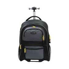 "Travelers Club Unisex  Sierra Madre 19"" Two-Toned Rolling Laptop Backpack"