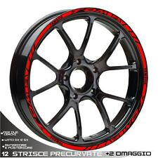 PROFILES STICKERS SPORT WHEEL WHEEL GRAPHICS TDM 850 900 ROSSO