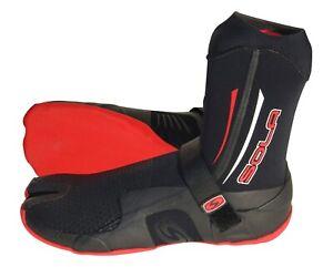Sola Adult Neoprene Boot, 5mm, Split Toe Liquid Seams,Thermal lining UK 4, UK12