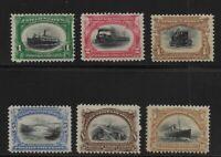 US Scott #294-#299 mint lightly hinged 1901 Pan American Expo set og f/vf