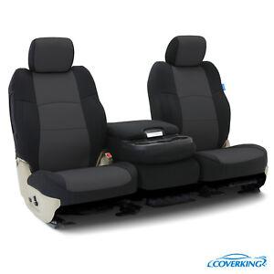 Coverking Neoprene Front Custom Car Seat Cover For GMC 2015-2018 Sierra 2500 HD