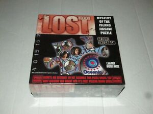 Lost Jigsaw Puzzle #4 of 4 Mystery Of The Island Before the Crash New Sealed
