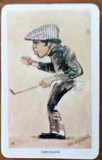 "GARY PLAYER,USA,GOLFER,VENORLANDUS ""OUR HEROES WORLD OF SPORT ""TRADE CARD MINT"