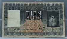 Nederland - Netherlands - 10 gulden 1933