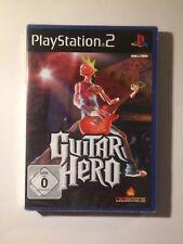 Guitar Hero, ps2 PlayStation 2 PAL, en original diapositiva soldada!
