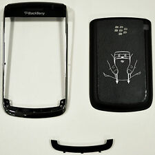 BLACKBERRY 9700 BATTERY BACK DOOR COVER & BOTTOM FRONT KEYBOARD PANEL & FRAME