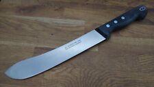 NOS Vintage Razor Sharp Carbon Steel Gustav Ern Solingen Germany Butcher Knife