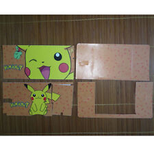 Pokemon Pikachu 1-19 Vinyl Decal Sticker Case Cover For NDSL Fit DS Lite Skins