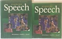 High School Speech Curriculum Homeschool Student & Teacher Edition Bundle