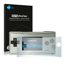 6x Savvies Screen Protector for Nintendo Gameboy Micro Ultra Clear