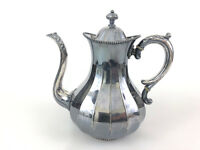 Antique Rogers, Smith & Co. silver plated coffee pot 2011 Meriden CT 1877 - 1904