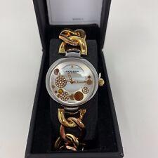 New Akribos XXIV Womens Gold Bracelet Watch