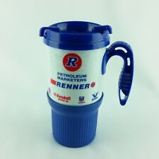 Renner Petroleum Whirley Travel Coffee Mug Tea Cup Soda Hot Cold Plastic Thermo