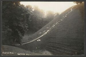 Postcard Thetford Norfolk early view of Castle Hill RP