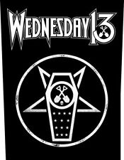 Wednesday 13 Dos Écusson/Backpatch # 2 What the night Brings - 36x29cm