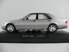 ALTAYA #55 Mercedes-Benz 500 SE (1991) en argent métallique 1:43 Nouveau/PC-Vitrine