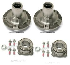 BMW E70 X5 X6 Set of Rear Left & Right Wheel Hubs Drive Flange with Bearings