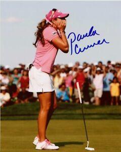 Paula Creamer Autographed Signed 8x10 Photo LPGA COA CFS Free Shipping