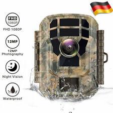 Campark FHD 16MP 1080P Jagdkamera Wildkamera IR Nachtsicht Überwachungskamera