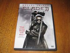 Blade 2  DVD Wesley Snipes, Kris Kristofferson, Ron Perlman, Leonor Varela, Norm