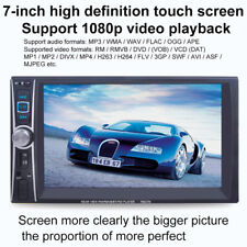 "6.6""2DIN Car DVD Player Bluetooth MP3/MP4/Audio/Video Rearview Camera Stock"