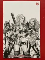DCeased #1 - Jay Anacleto B&W VIRGIN VARIANT Cover B - Unknown Comics Exclusive