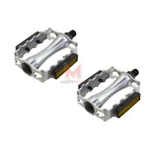 """New M.T.B. 763R 1/2"""" Alloy Bicycle Pedals Silver Beach Cruiser Mountain Bike"""