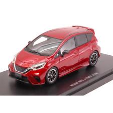 NISSAN NOTE e-POWER NISMO 2017 METALLIC RED 1:43 Ebbro Auto Stradali Die Cast