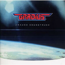Japan Game Music CD Gradius Arcade Sountrack Tracking Number from Japan Brandnew