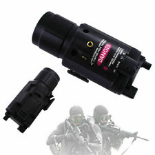 Us Tactical Red Dot Laser Sight Led Flashlight Combo with 20mm Picatinny Rail