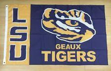 LSU Louisiana State University Tigers 3x5 ft Flag