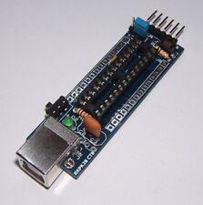 RKPK28c Compact PCB for PIC18F2550 PIC18F2553 PIC18F27J53 PicKit Self Build Kit