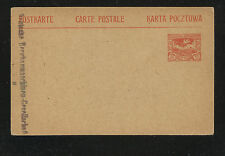Upper  Silesia  postal  card  unused  10 cent       KL0308