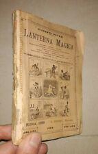 PETRAI LANTERNA MAGICA BOZZETTI UMORISTICI DISEGNI MARCHETTI PERINO 1889