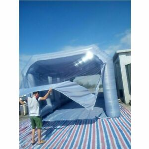 7X4X3M Inflatable Spray Booth Custom Tent Car Paint Booth Inflatable Car