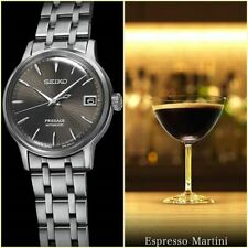Seiko JAPAN Made Presage Cocktail Expresso Martini Men's Watch