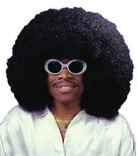 Super Afro Jumbo Fro 70s 80s Hippie Hippy Disco Men Costume Wig