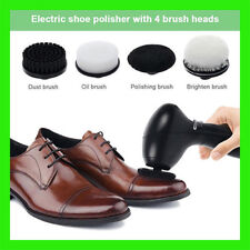 Electric Shoes Polisher Handheld Cleaning Machine Leather Shine Brush