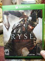 Ryse: Son of Rome (Microsoft Xbox One, 2013) No Manual