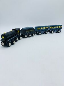 Polar Express Train Imaginarium Magnetic Warner Bros Wooden Railway Brio