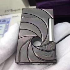 Bond 007 Lighters S.T Dupont Memorial Lighter Bright Sound Engraving Hole Black