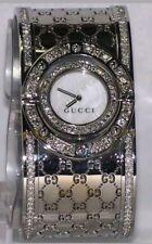 0267a32f8bc New Ladies Gucci Wide Twirl 2.60Ct.aprx. Custome Set Real Diamond Watch  Ya112413