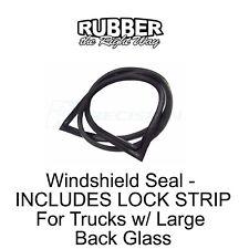 1968 1969 1970 1971 Dodge Truck Rear Window Seal w/ Lock Strip Large Window