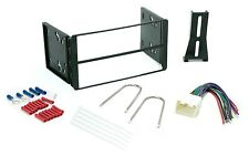 Double Din Dash Kit for Ford Car Radio Stereo Install Installation Wire Harness