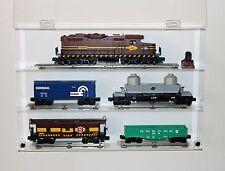 Collectors Showcase - Premium Display Case for Lionel Model Trains - S2MS