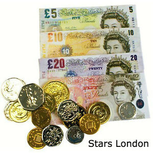 Sterling Toy Play Money Set for Educational Learning Literacy Numeracy Play Set