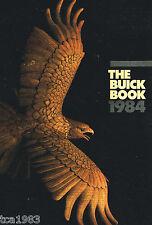 1984 BUICK Catalog : RIVIERA,CENTURY,REGAL,SKYLARK,Le SABRE,ELECTRA,PARK AVENUE,