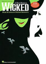 WICKED The New Broadway Musical Piano Sheet Music Book